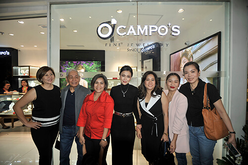 Sweetest February for Ocampo's Fine Jewelry and Jodi Sta Maria