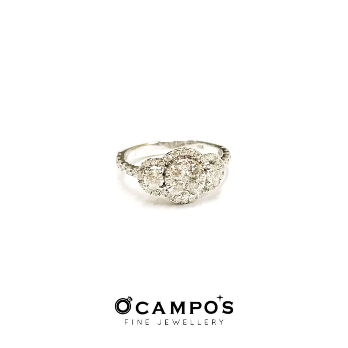 Diamond Trio Illusion Ring